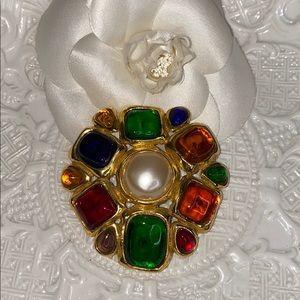 CHANEL Jeweled Brooch ***RARE***